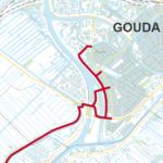 Doorfietsroute Rotterdam - Gouda: van A20 naar F20